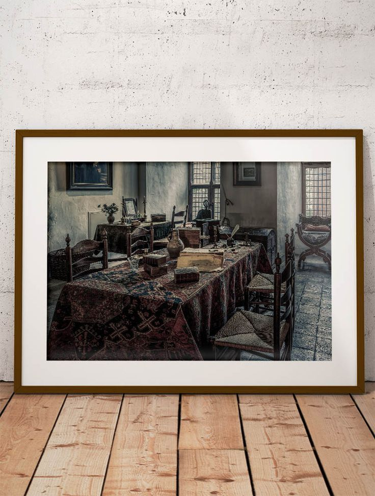 From fine art america · interior of a medieval castle by tim abeln photography and digital art prints beautiful wall