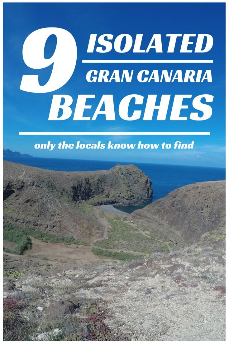 Your list of the 9 beaches in Gran Canaria only the locals know about, and you don´t want to miss.