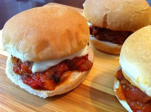Sloppy Giuseppe Sliders