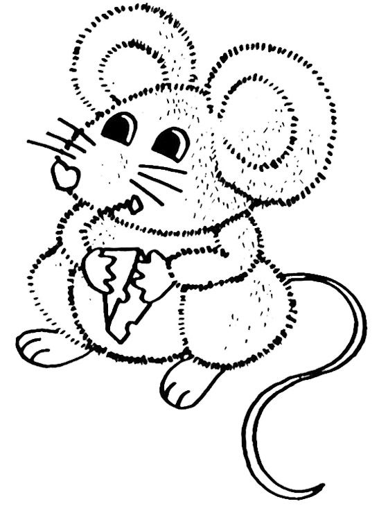 Cute Mouse Coloring Pages | Kids Coloring Pages | Pinterest