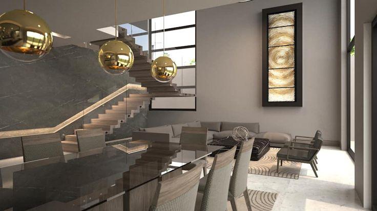 78 best ideas about sala comedor modernos on pinterest for Salas y comedores modernos