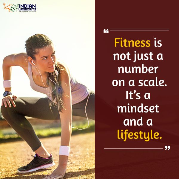 Fitness is all about making the right lifestyle changes. #Fitness #IndianWorkouts
