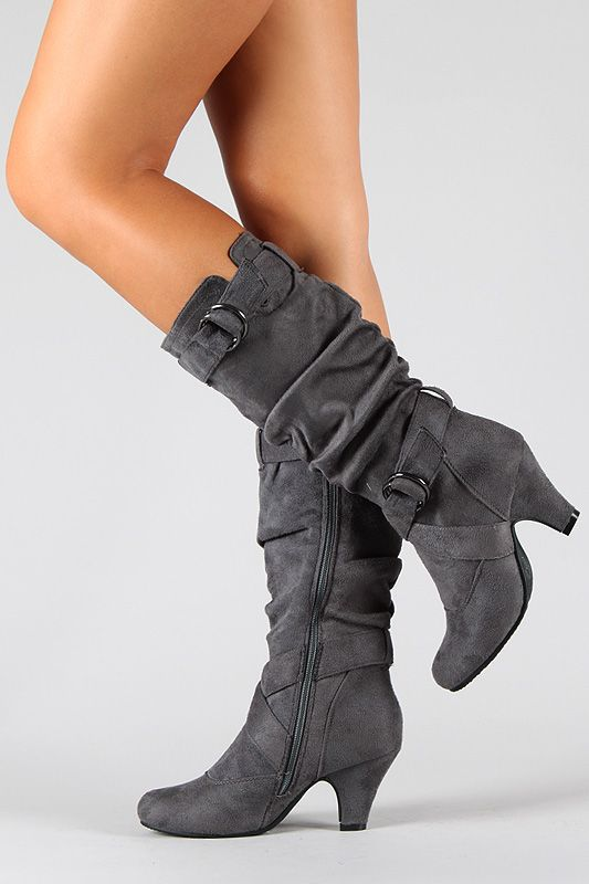 25  best ideas about Grey boots on Pinterest | Grey boots outfit ...