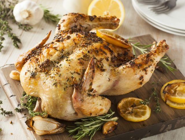 Fűszervajas sült csirke Recept képpel - Mindmegette.hu - Receptek
