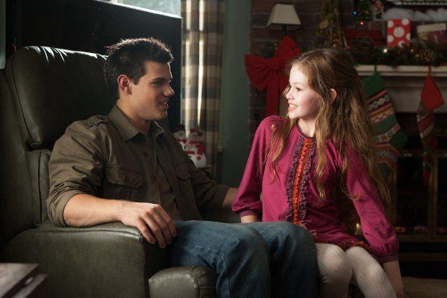 Still of Taylor Lautner and Mackenzie Foy in The Twilight Saga: Breaking Dawn - Part 2