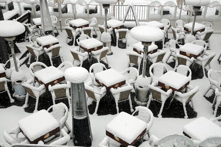 Snow. Everywhere.