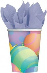 Tavşancık Bardak, Parti Sofraları - Parti Bardakları Doğum Günü / Paskalya Parti Malzemesi:  Tavşan Parti temanızı tamamlayacak bu kağıt bardaklar, 8oz (266ml) sıvı alır. Hem soğuk, hem sıcak içecek kullanımına uygundur. Doğum günü, parti sofralarınız için ideal kullan-at malzeme. Diğer temalı parti malzemeleri ile kombinleyebilirsiniz.