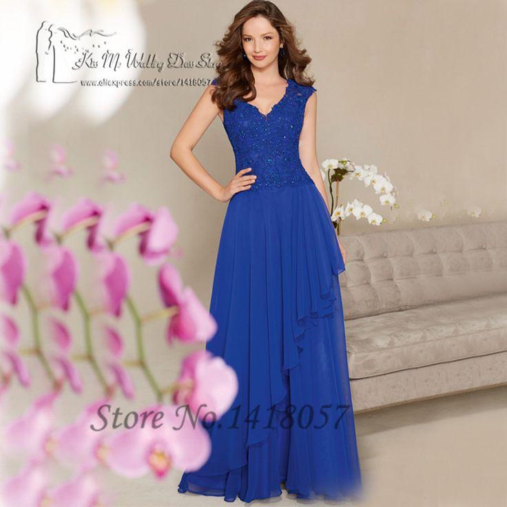 Coral azul real de la mujer vestidos formales largos vestidos de noche moldeado del cordón del Vestido de la borla Abendkleider 2016 Vestido de Festa Longo(China (Mainland))