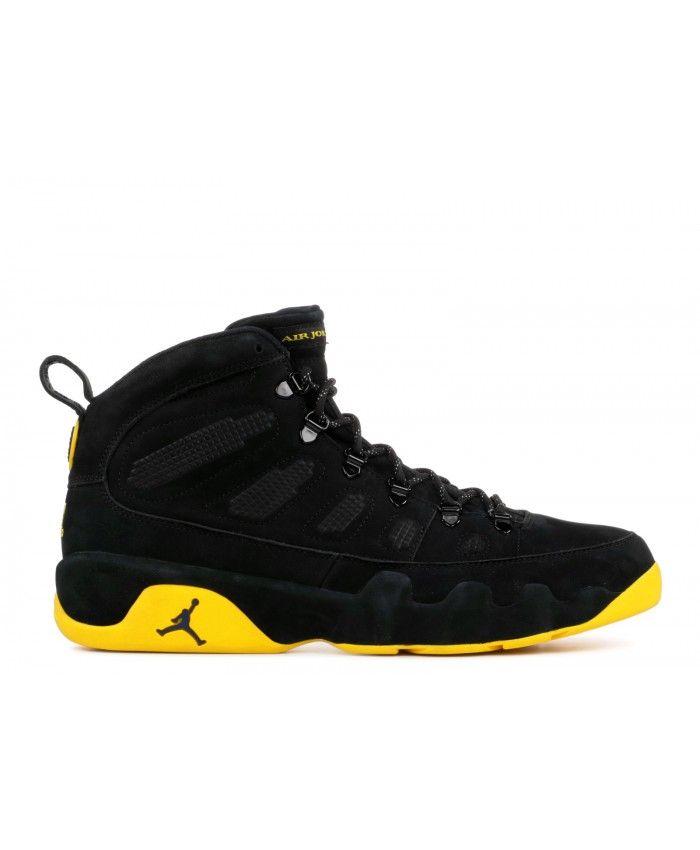 sale retailer 8f6ff 8056e Nike Air Jordan 9 Retro Boot Michigan Psny Pe Black Amarillo College Navy  Outlet