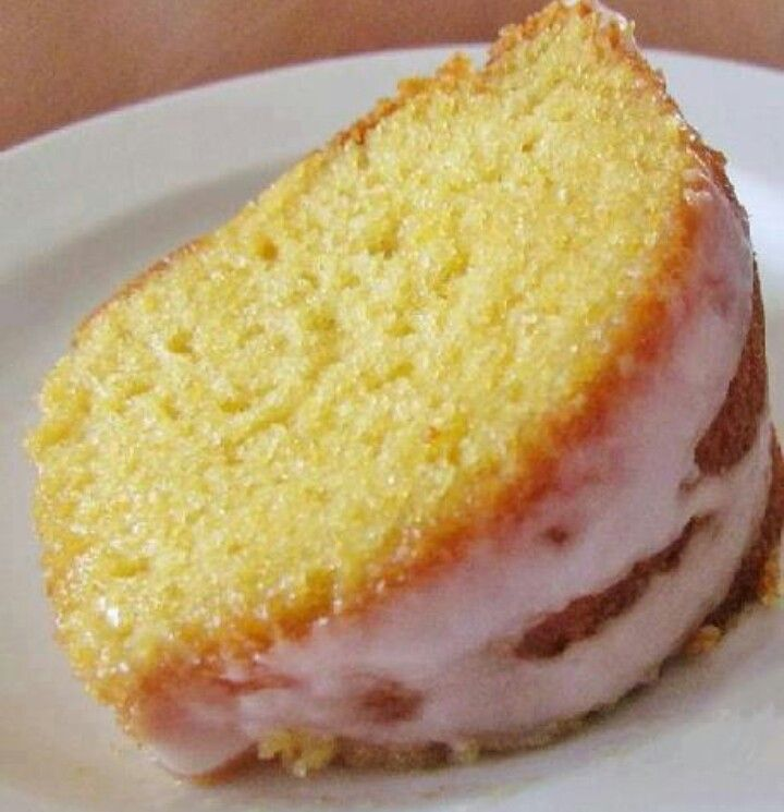 Eggless Moist Yellow Cake Recipe