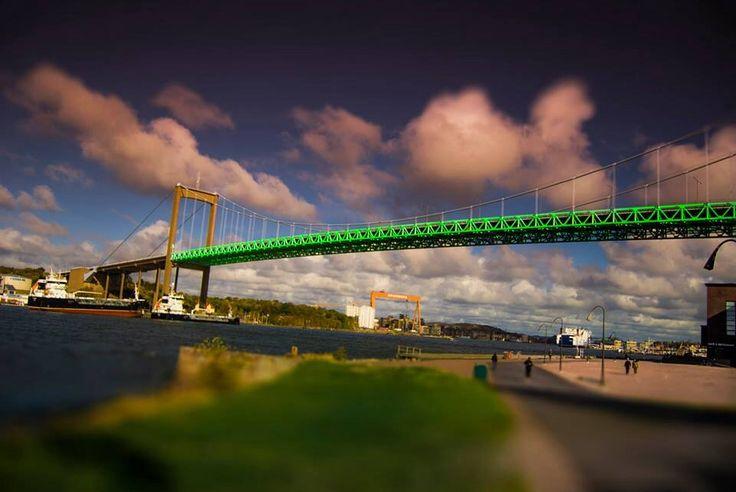 Gothenburg Älvsborg bridge.