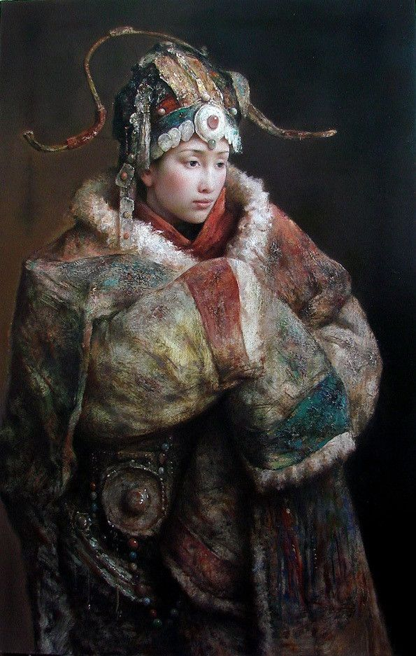 Tang Wei Min with beautiful earth colors!