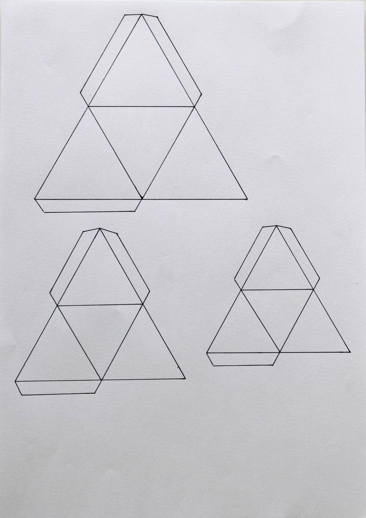 gabarit triangle 3d
