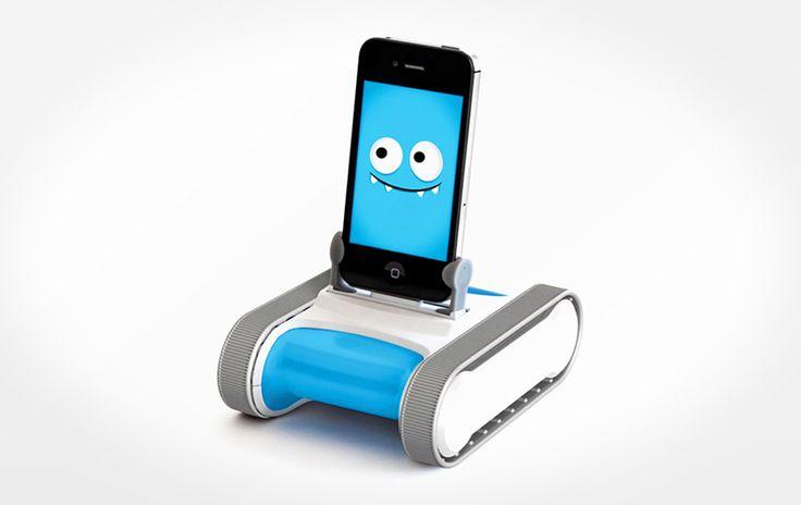 Компанией Romotive была создана простенькая, но весьма любопытная и интересная штуковина – маленький гусеничный робот Romo, которым можно управлять при помощи смартфонов. Простое и весьма удобное […]
