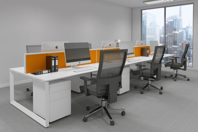equipofficefurniture.com.au - DIAMOND WORKSTATION SYSTEM in WHITE AVAILABLE FOR IMMEDIATE DELIVERY
