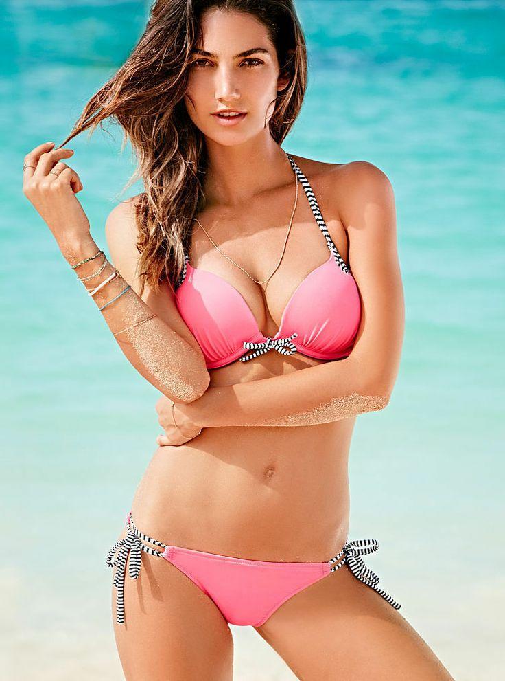 Busty asian bikini models