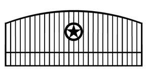 star Iron Gates | Custom iron driveway gates texas, custom ranch gate texas, custom ...