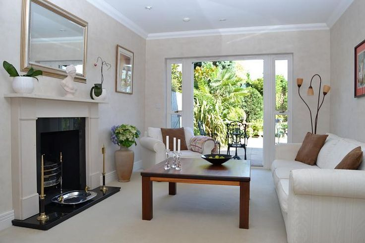 lounge with french doors - Google Search