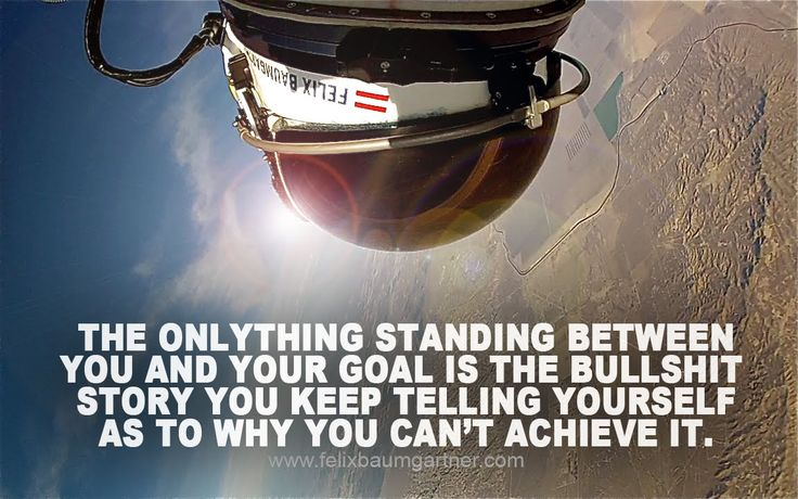 quote:A quote from Felix Baumgartner(they guy who jumped from the edge of space)