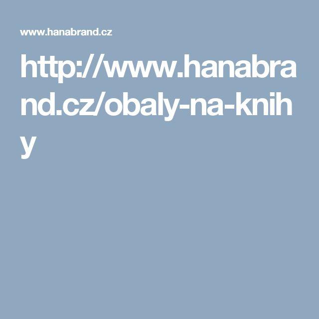 http://www.hanabrand.cz/obaly-na-knihy