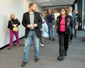 GreenTown Joplin tours JHS with eye on green features - CGA Architects