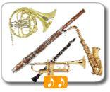¡Juega al Memory y aprende los nombres de los instrumentos de viento!
