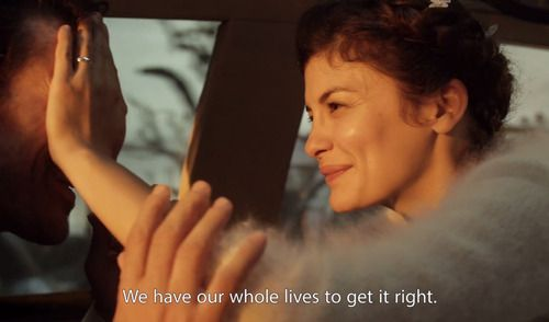 """Mood Indigo - L'Ecume des Jours (2013) - """"We have our whole lives to get it right."""" Love quotes, movie quotes"""