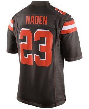 Nike Men's Joe Haden Cleveland Browns Game Jersey - Brown XXL