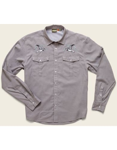 Howler Brothers Gaucho Snapshirt - Mens | Perfect shirt to summer cookouts | Fishwest Fly Shop