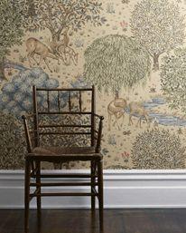 The Brook Linen från William Morris & Co
