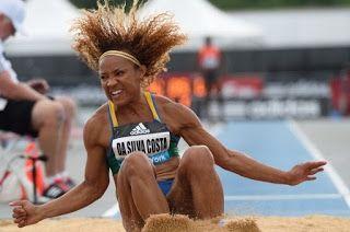 Blog Esportivo do Suíço:  Keila Costa fica com a prata no salto triplo no Pan
