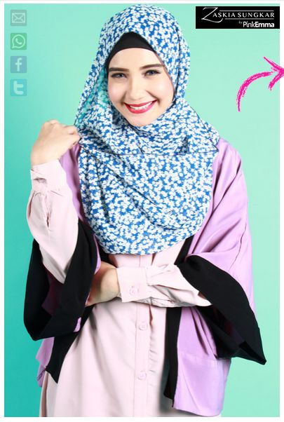 Contoh Desain Model Busana Muslim Ala Zaskia Sungkar