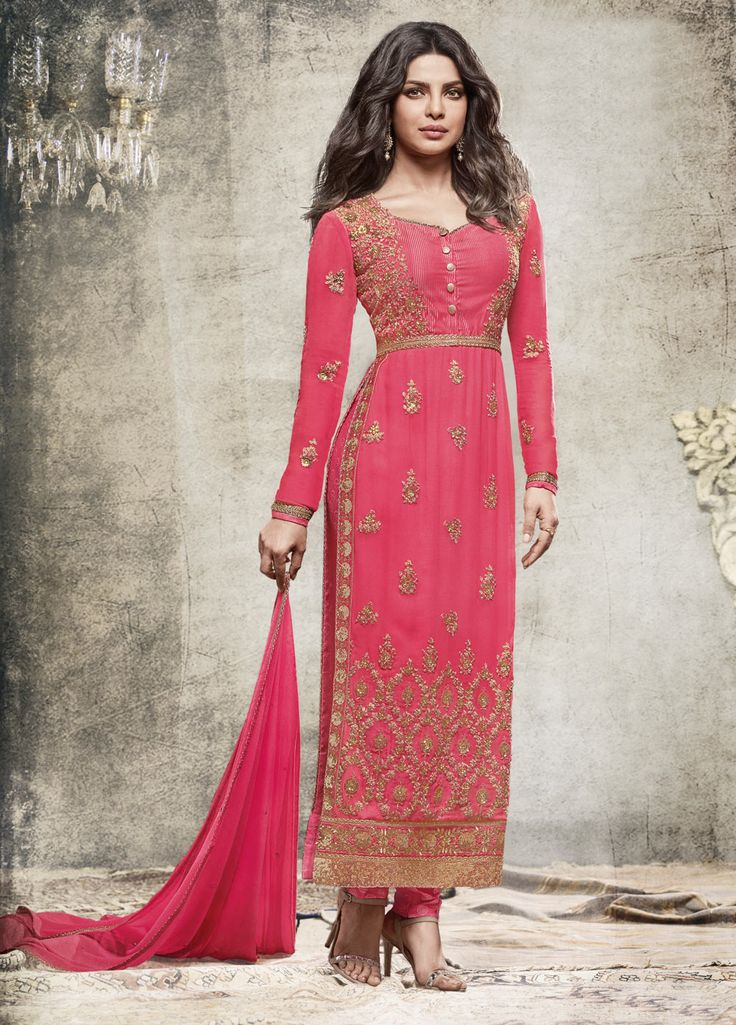 ... Latest Indian Designer Churidar Suits Salwar Kameez Collection  2015-2016 (8) ...