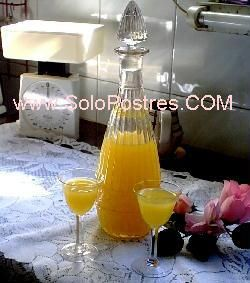 Licor de limón y naranja