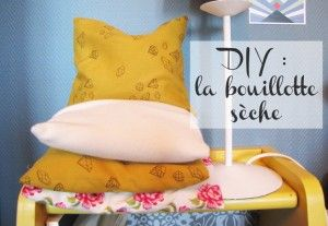 DIY bouillotte sèche - tuto