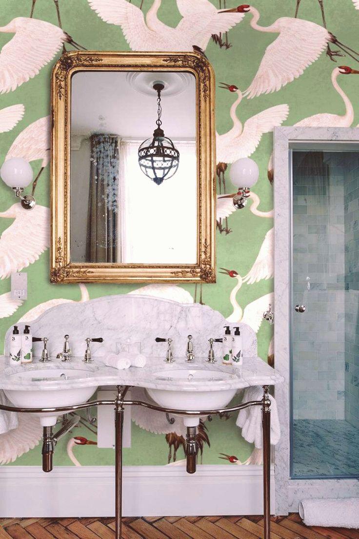CUSTOM Heron print wallpaper Inspired Gucci Wallpaper