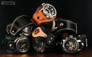 Topouzelli Straps : Topouzelli Straps. Leather accessories for time ke...