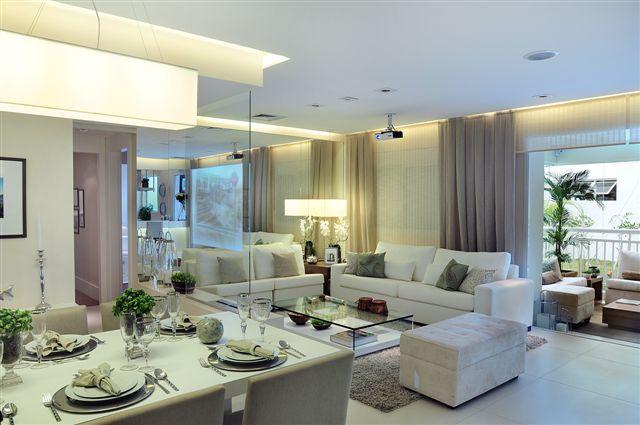 Belisssimo e requintado - Apartamento Decorado 107m² - Cyrela #quitetefaria
