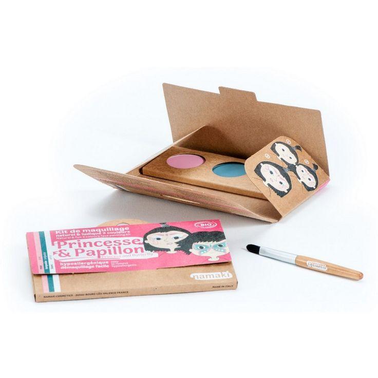 Kit Maquillage Enfant 3 couleurs Princesse & Papillon