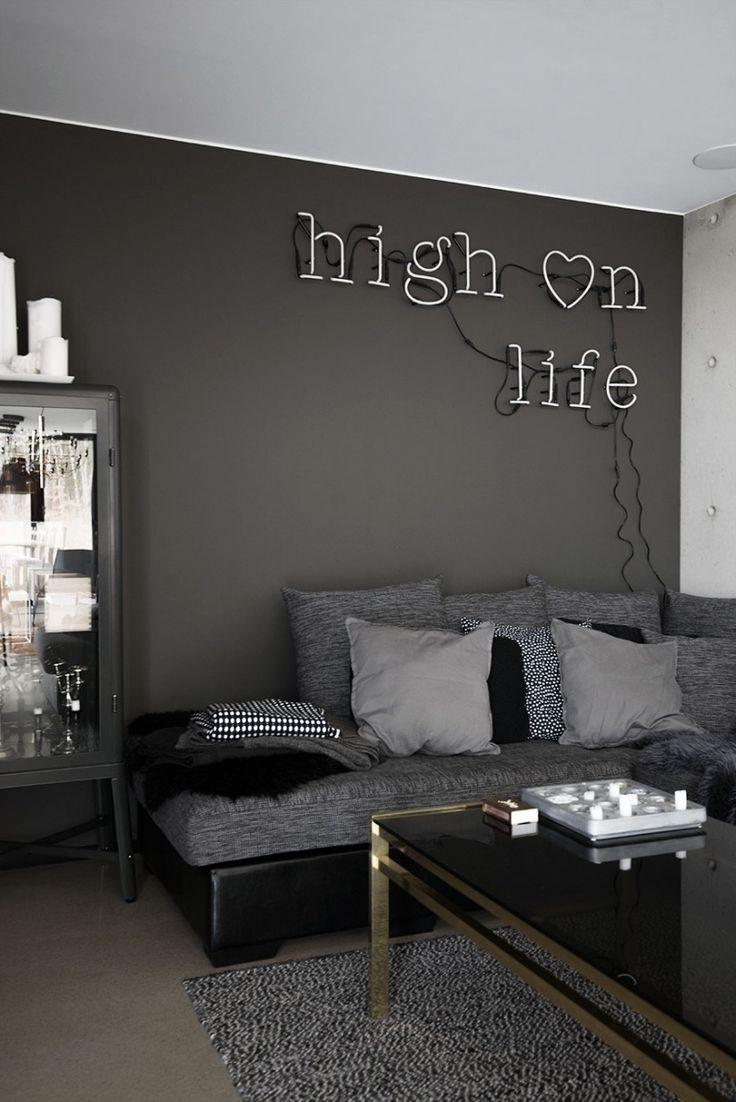 Best 25+ Dark grey sofas ideas on Pinterest | Living room ...