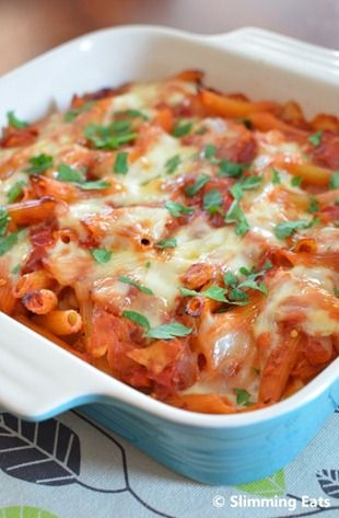 Tuna Pasta Bake | Slimming Eats - Slimming World Recipes. 0.5 syns and 1 healthy extra A choice per serving on EE.