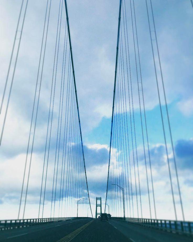 #mackinacbridge #Michigan #North #bridge