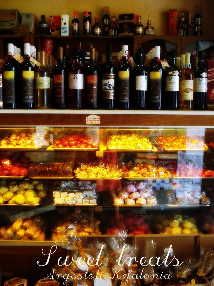 Sweet treats @ Argostoli, Kefalonia