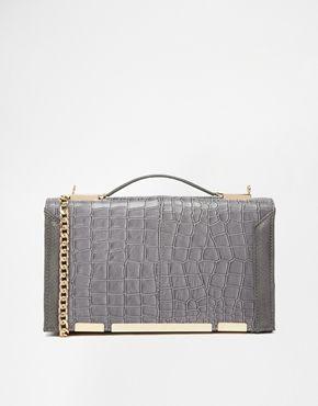 #bag #accessories #ecoleather #veganfashion #grey #clutch