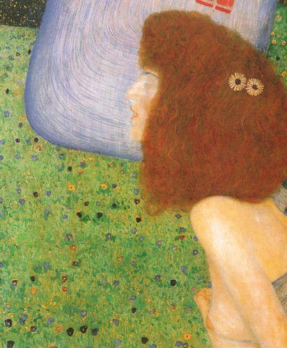 Ragazza con velo blu - Klimt Gustav - Opere d'Arte su Tela - Listino prodotti - Digitalpix - Canvas - Art - Artist - Painting