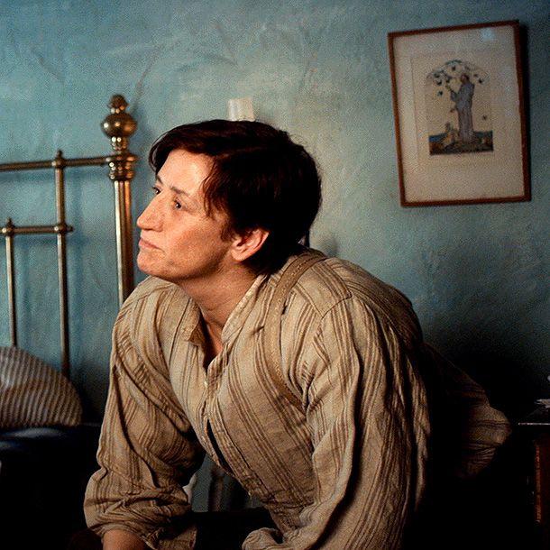 Janet McTeer play Hubert Page in ALBERT NOBBS
