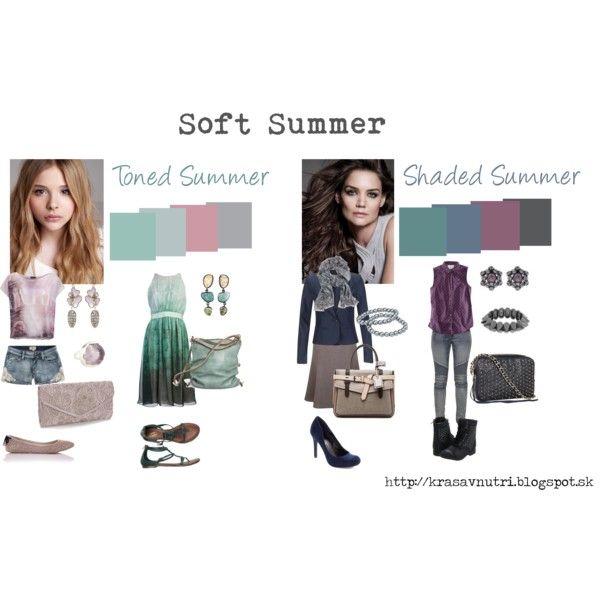 """Soft Summer variations"" by lapetiteamelie on Polyvore"