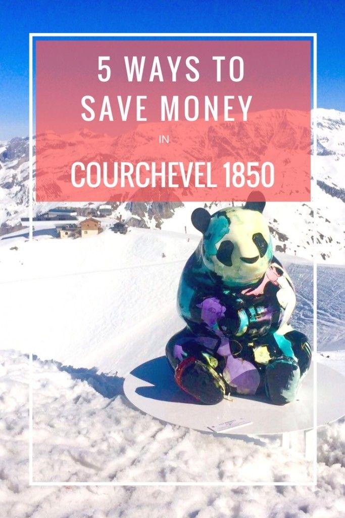 5 ways to save money Courchevel 1850
