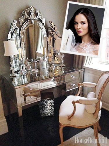 georgina chapman --stunning mirrored vanity