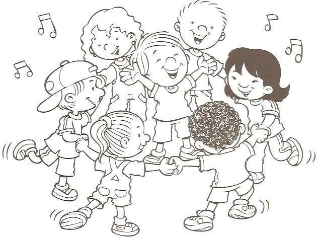 Dibujos De Juegos Infantiles